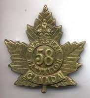 Badge 58th