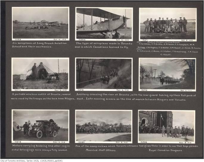 John Boyd Sr. Toronto military training photograph album