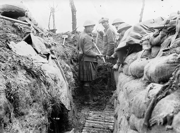 German trenches, Sanctuary Wood