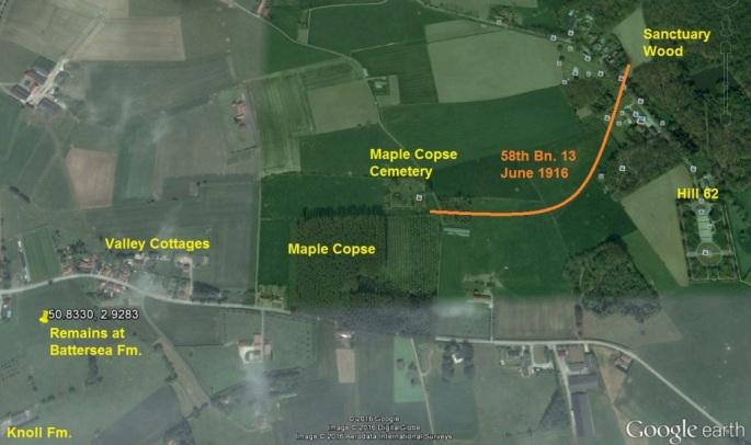 Google Earth Visual of Area