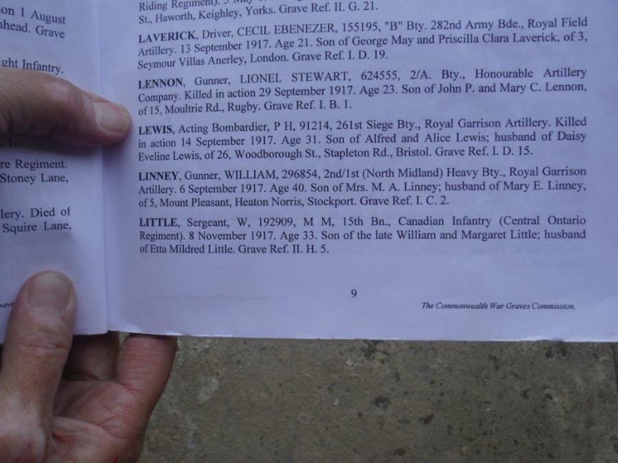 Wm Little Grave Info DSCF2096