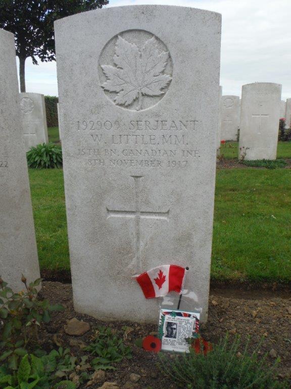 Wm Little Grave Marker DSCF2099