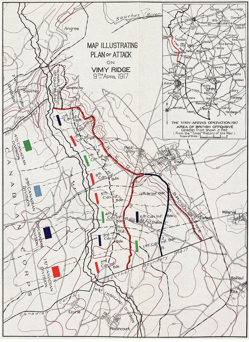 Plan_of_Attack_Vimy_Ridge